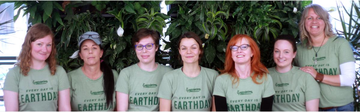 Our Team on Earthday