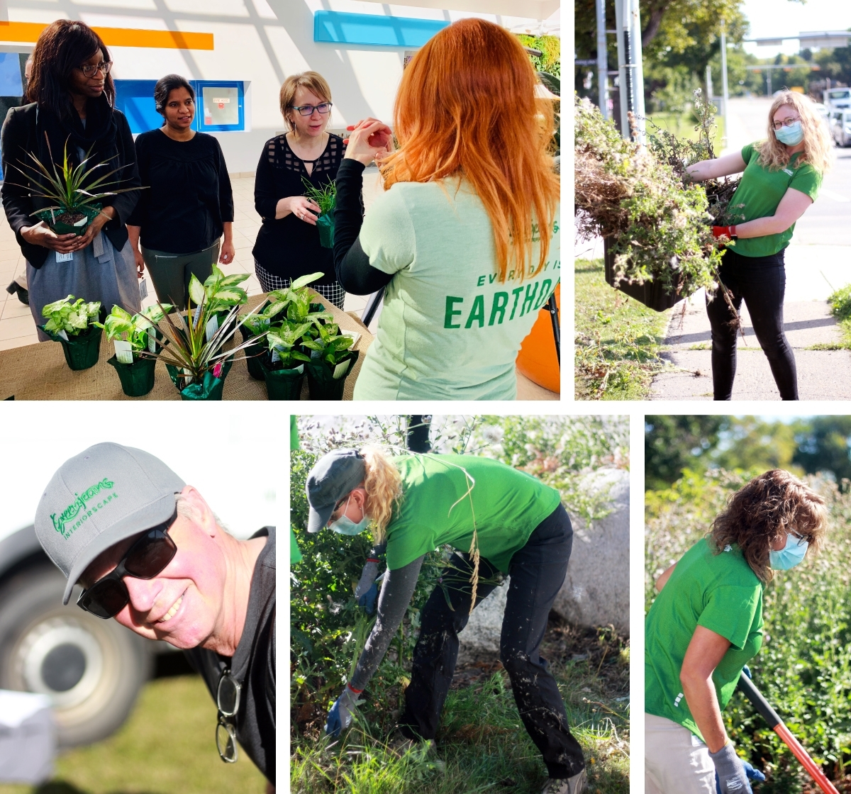 Our plant people helping in the community
